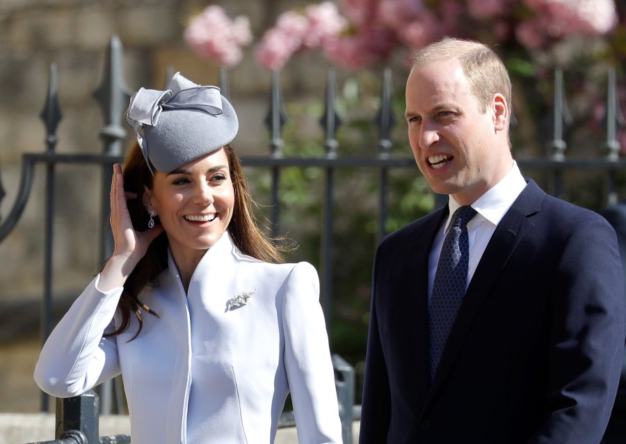 Prince William Kate Middleton Royal Family Celebrate Easter