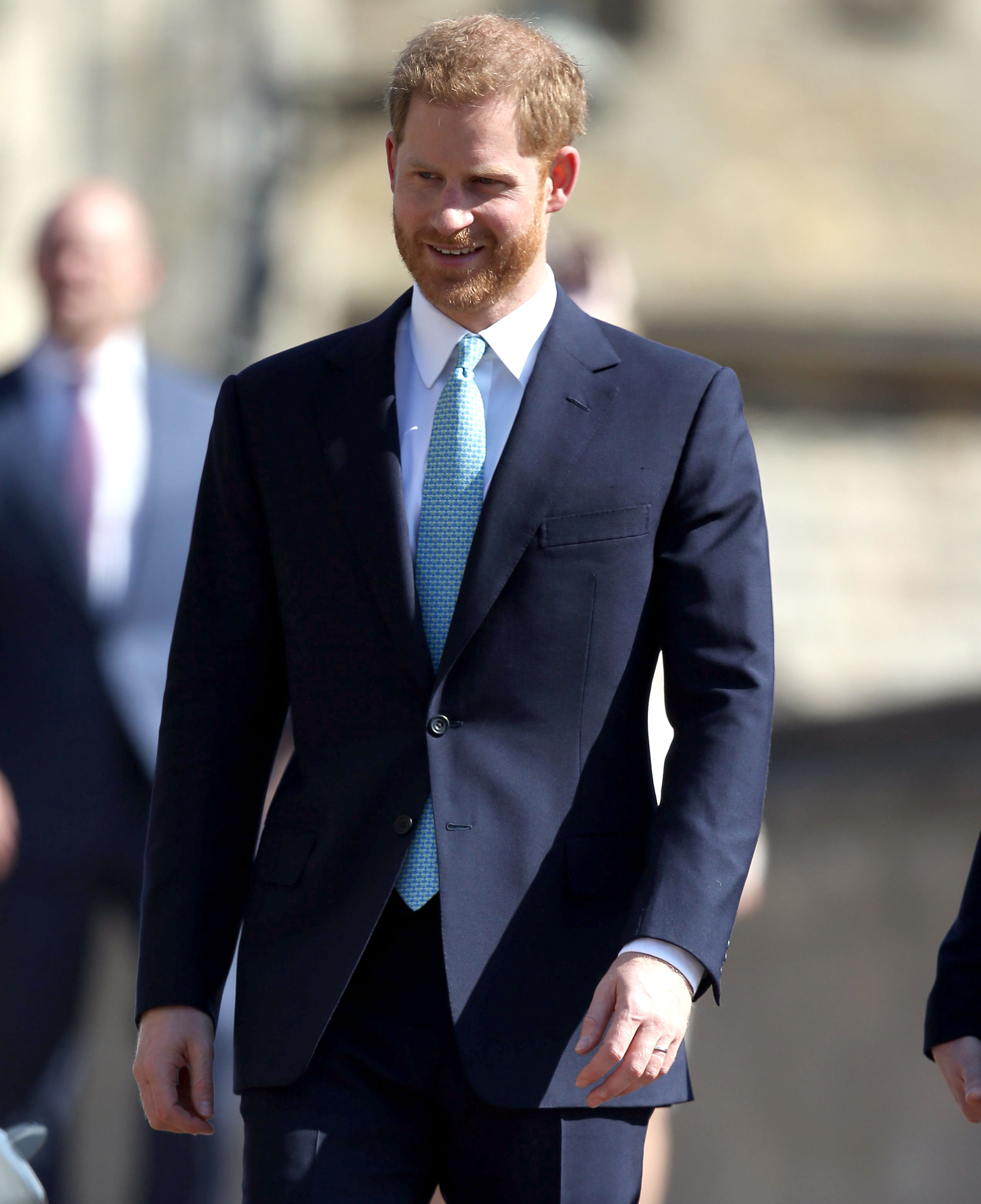 Prince Harry Royal Family Celebrate Easter - Harry stepped away from his home with Meghan to join his brood as they celebrated Easter together.