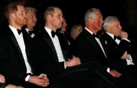 Royal Trio! Prince Charles, Prince William and Prince Harry Step Out Together for Rare Photo