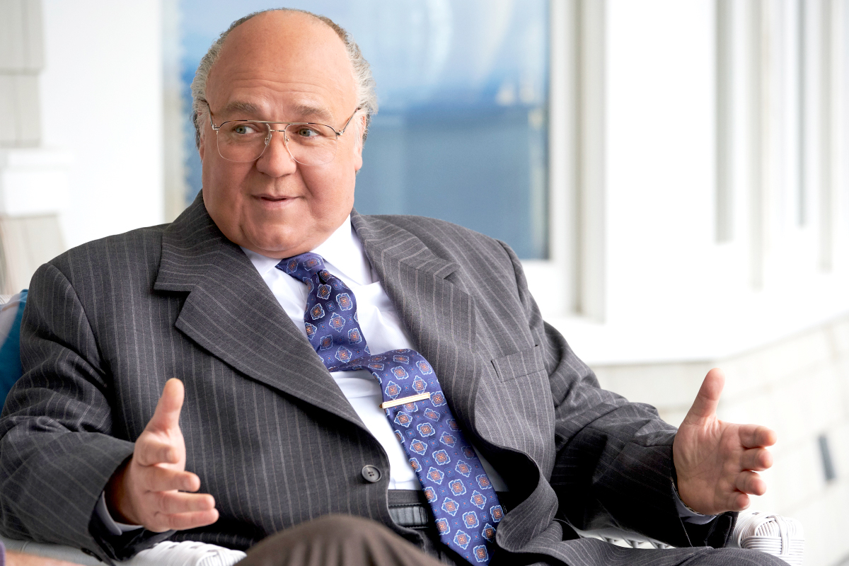 Russell-Crowe-as-Roger-Ailes - Russell Crowe as Roger Ailes in The Loudest Voice