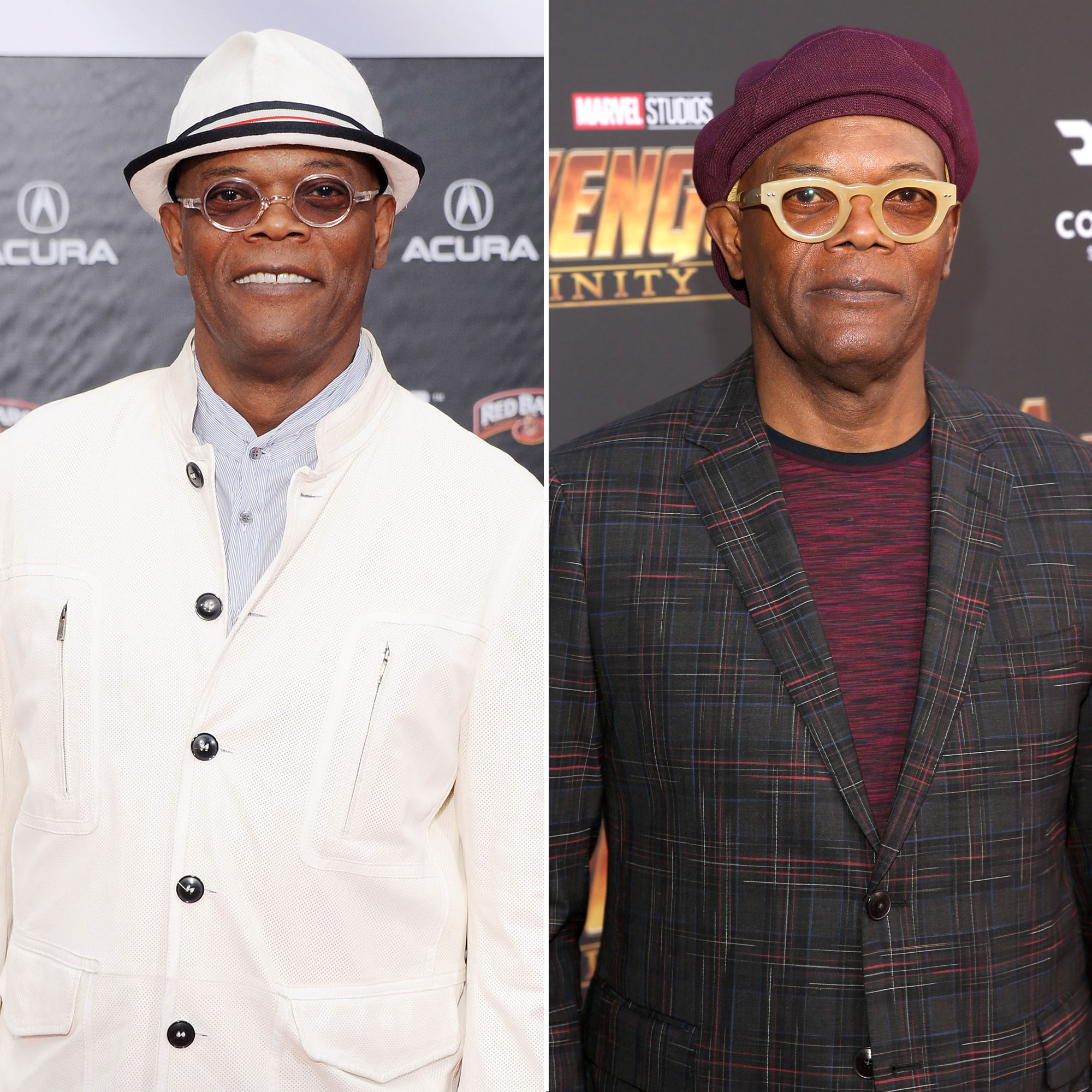 Samuel L. Jackson Avengers Premiere First Super Red Carpet to Their Last - The Pulp Fiction actor gave Rudd a run for his money at the Endgame premiere, appearing to not to have aged a day since the film series' beginning in 2012.