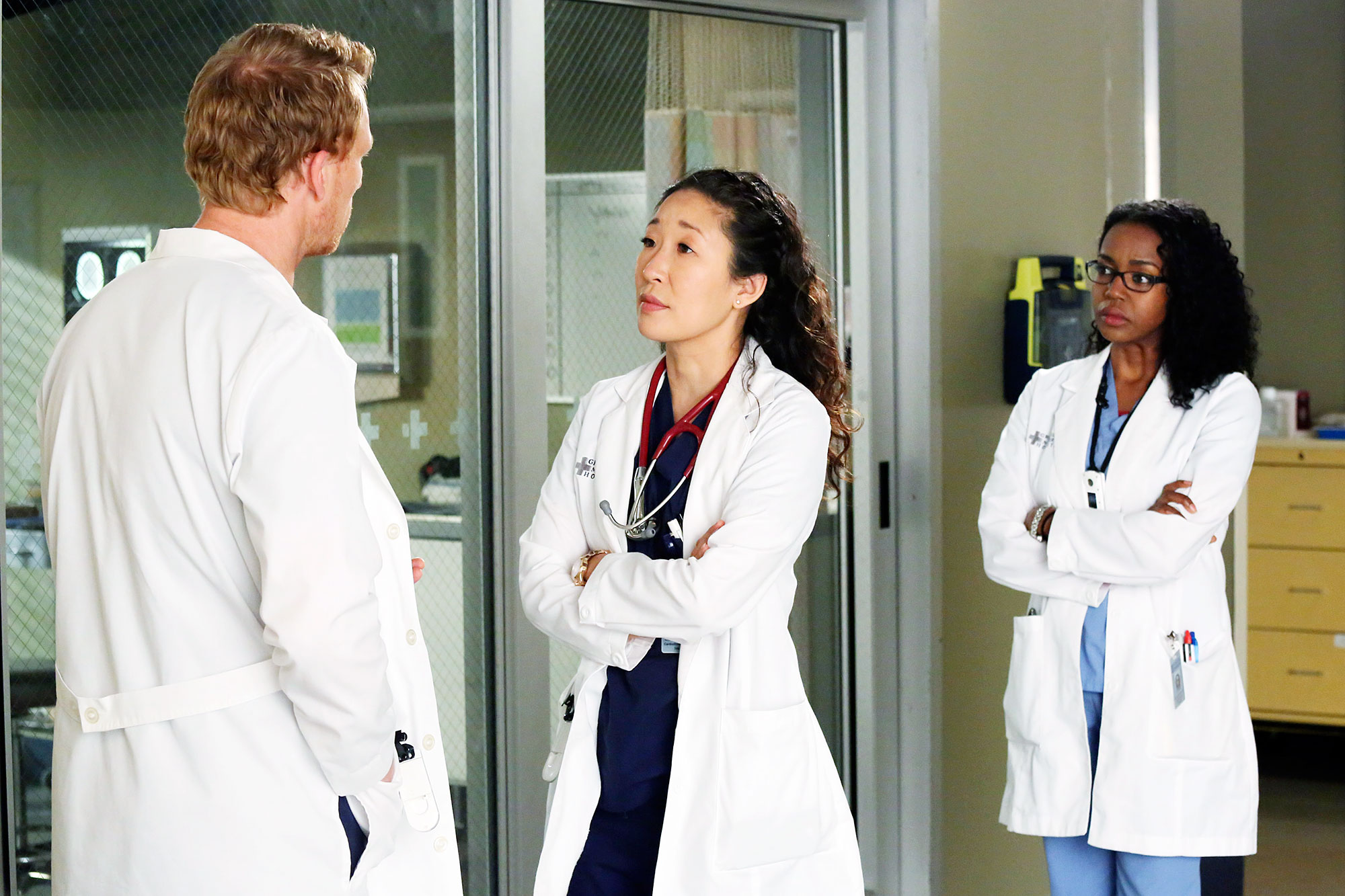 Sandra Oh Grey's Anatomy No Return