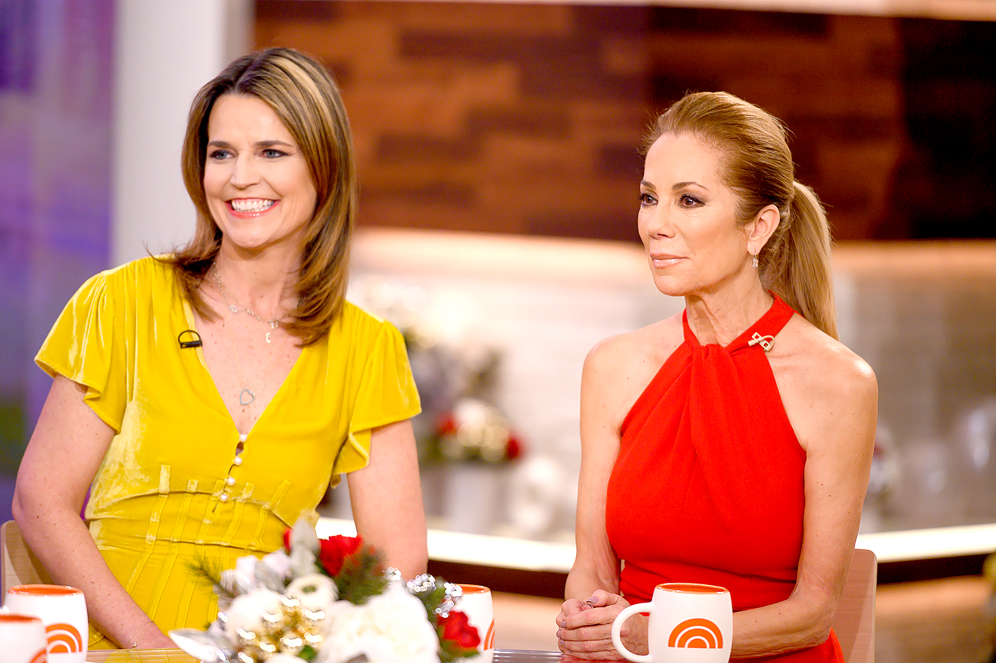 """Savannah-Guthrie-and-Kathie-Lee-Gifford - """"She's always herself! Just from watching her, she never stops being herself."""" With reporting by Travis Cronin."""