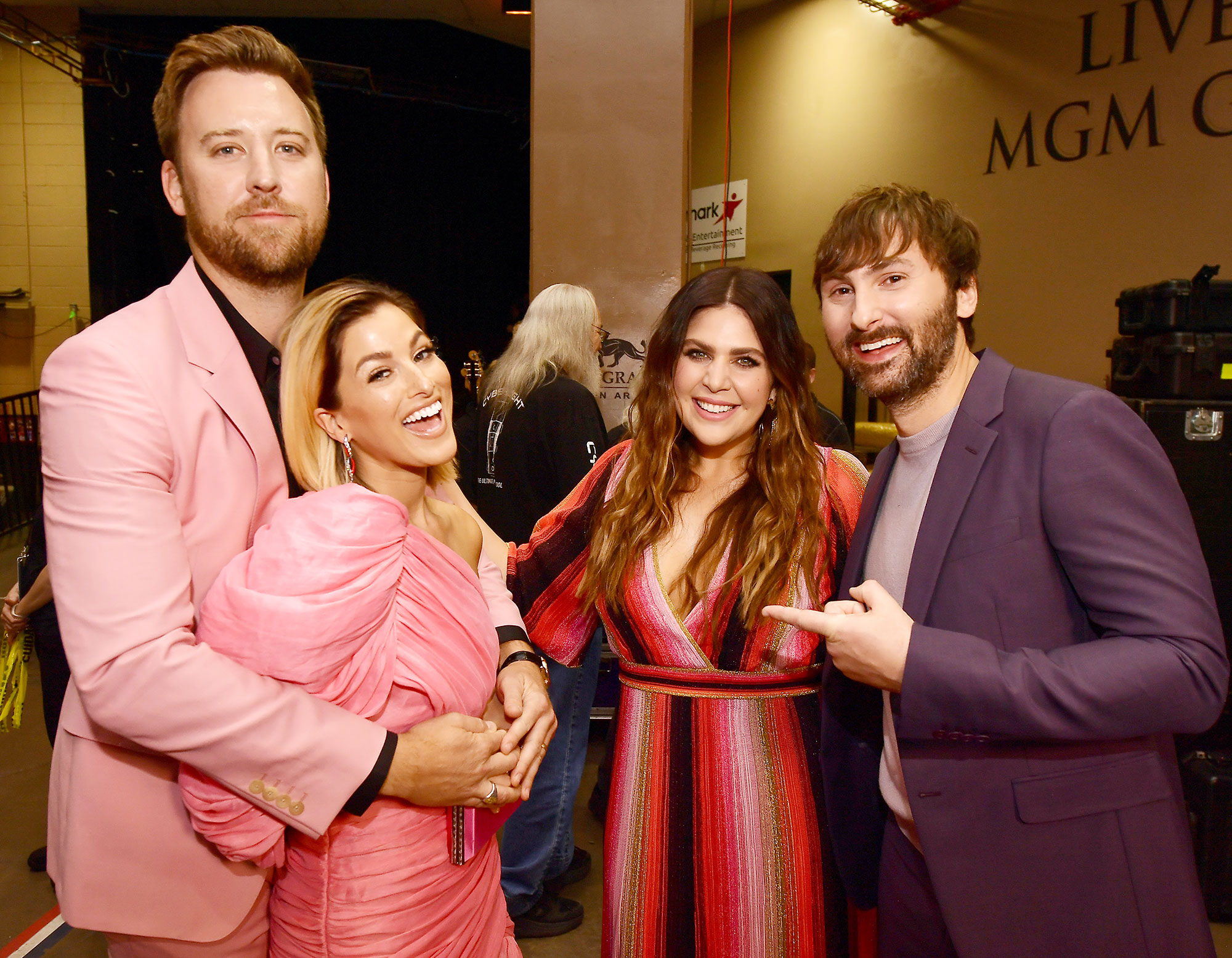 Inside ACM Awards 2019 Scott Kelley Cassie McConnell Hillary Scott Dave Haywood - Scott Kelly , Cassie McConnell , Hillary Scot t and Dave Haywood shared a funny moment backstage.