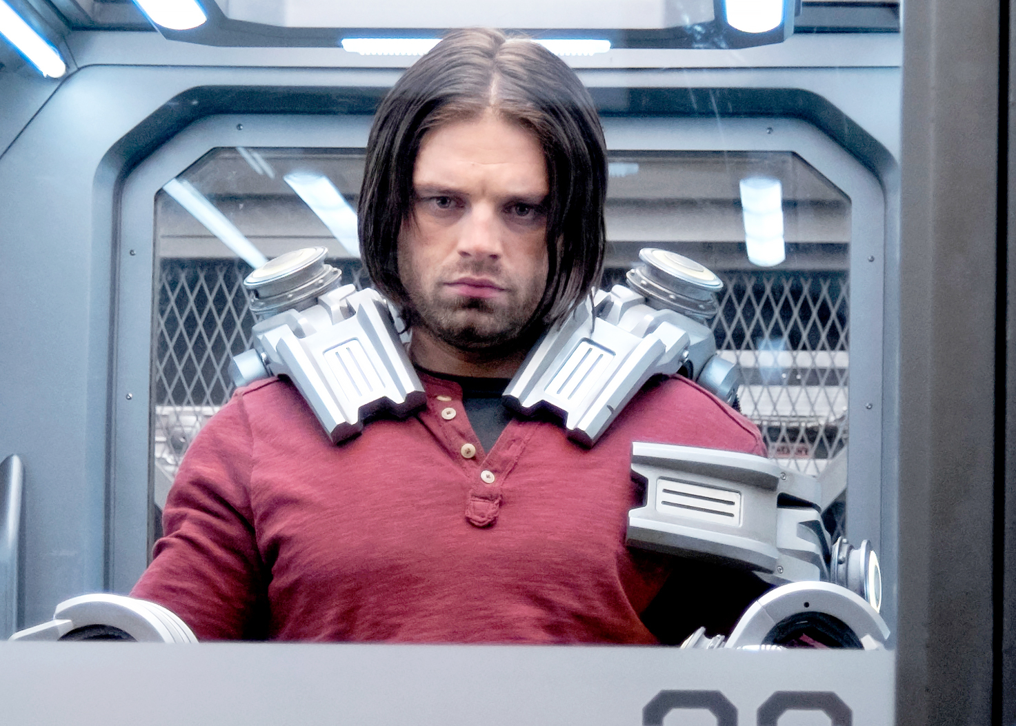 stars as superheroes Sebastian Stan - The Gossip Girl alum portrays Bucky Barnes/Winter Soldier; he first appeared in the 2001 Captain America film. Since, he has appeared in six MCU movies.