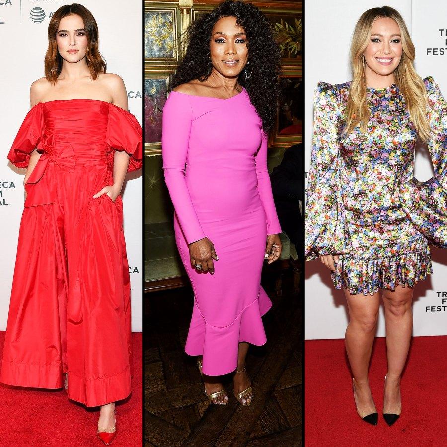 Tribeca Film Festival 2019 Zoey Deutch, Angela Bassett, and Hilary Duff