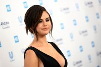 Selena Gomez Slays First Red Carpet Since Completing Treatment WE Day California Black Dress