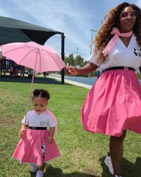 Serena Williams¹ Daughter Is Her Style Mini Me in Adorable #Twinning Pic