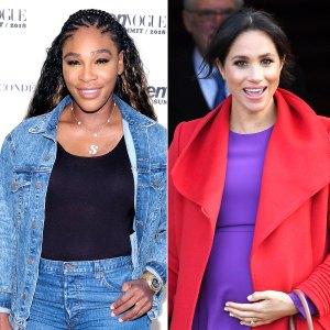 Serena Williams May Have Hinted at the Sex of Duchess Meghan's Royal Baby