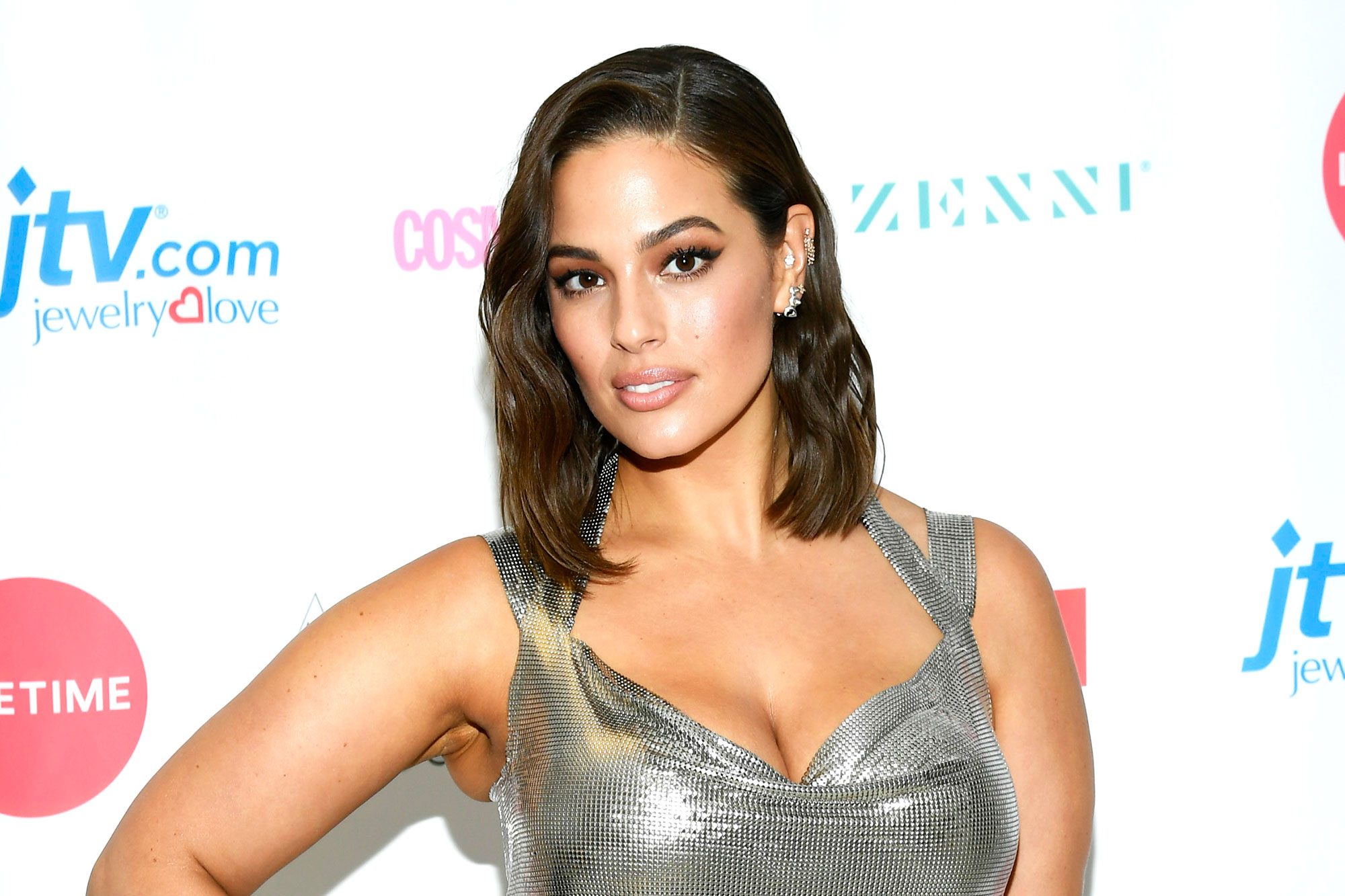 Ashley Graham Natural Deodorants - Ashley Graham attends Lifetime's American Beauty Star Season 2 Live Finale at Manhattan Center on March 27, 2019 in New York City.