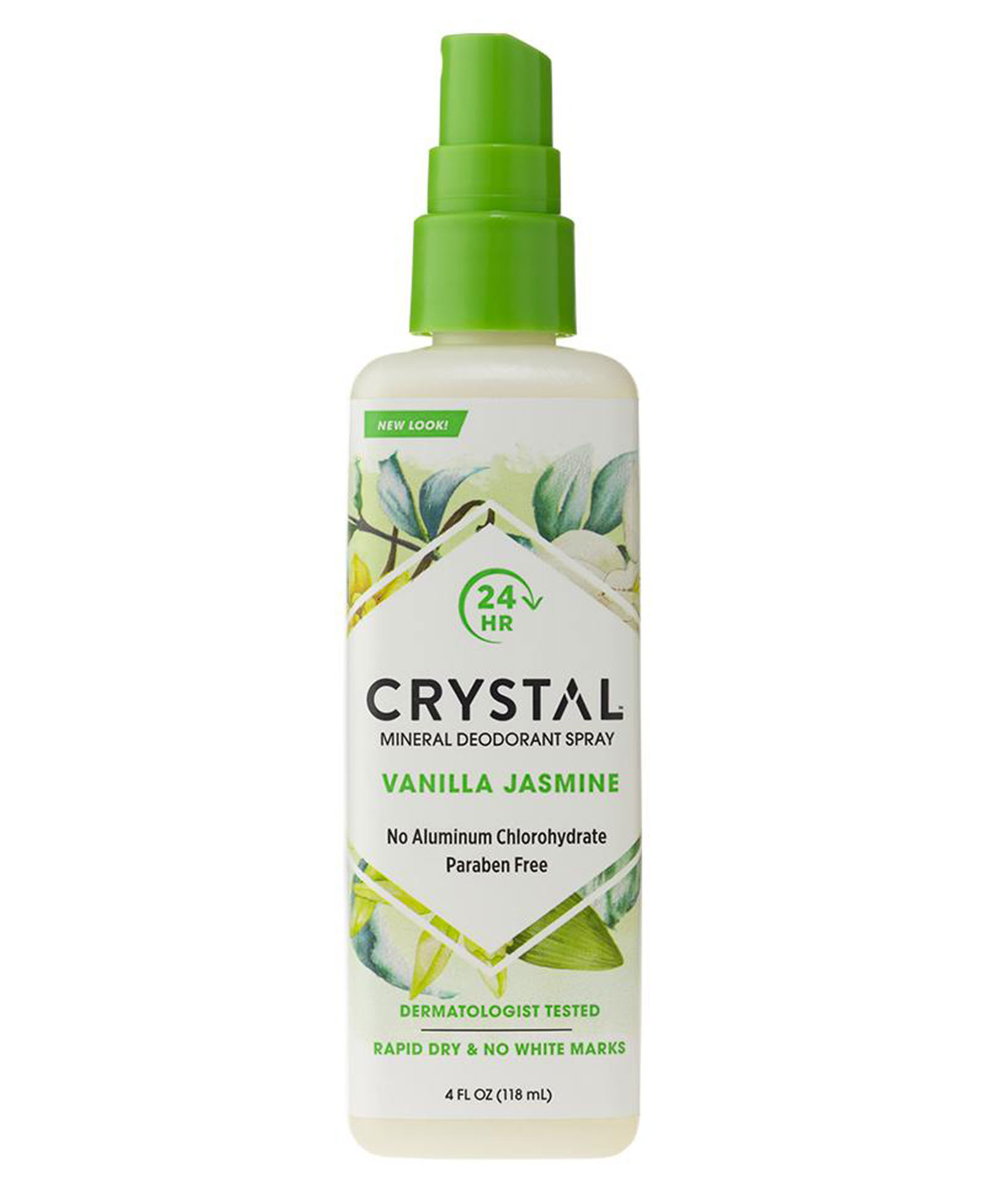 Ashley Graham Natural Deodorants crystal mineral deodorant spray - Crystal Mineral Deodorant Spray