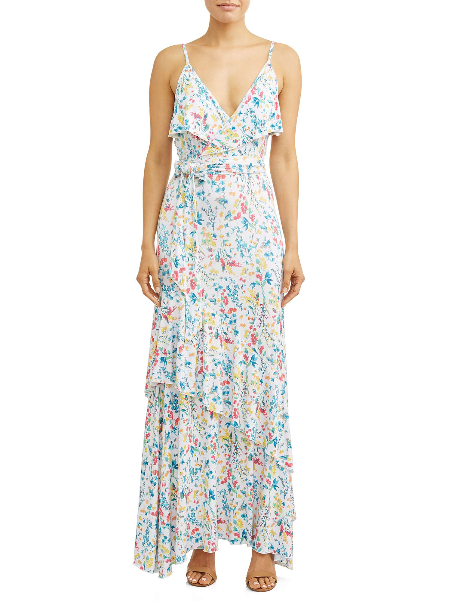 Sofia Vergara Spring Collection walmart - Flattering for any shape and size, this floral maxi is the dress we've been missing. $37.50, walmart.com