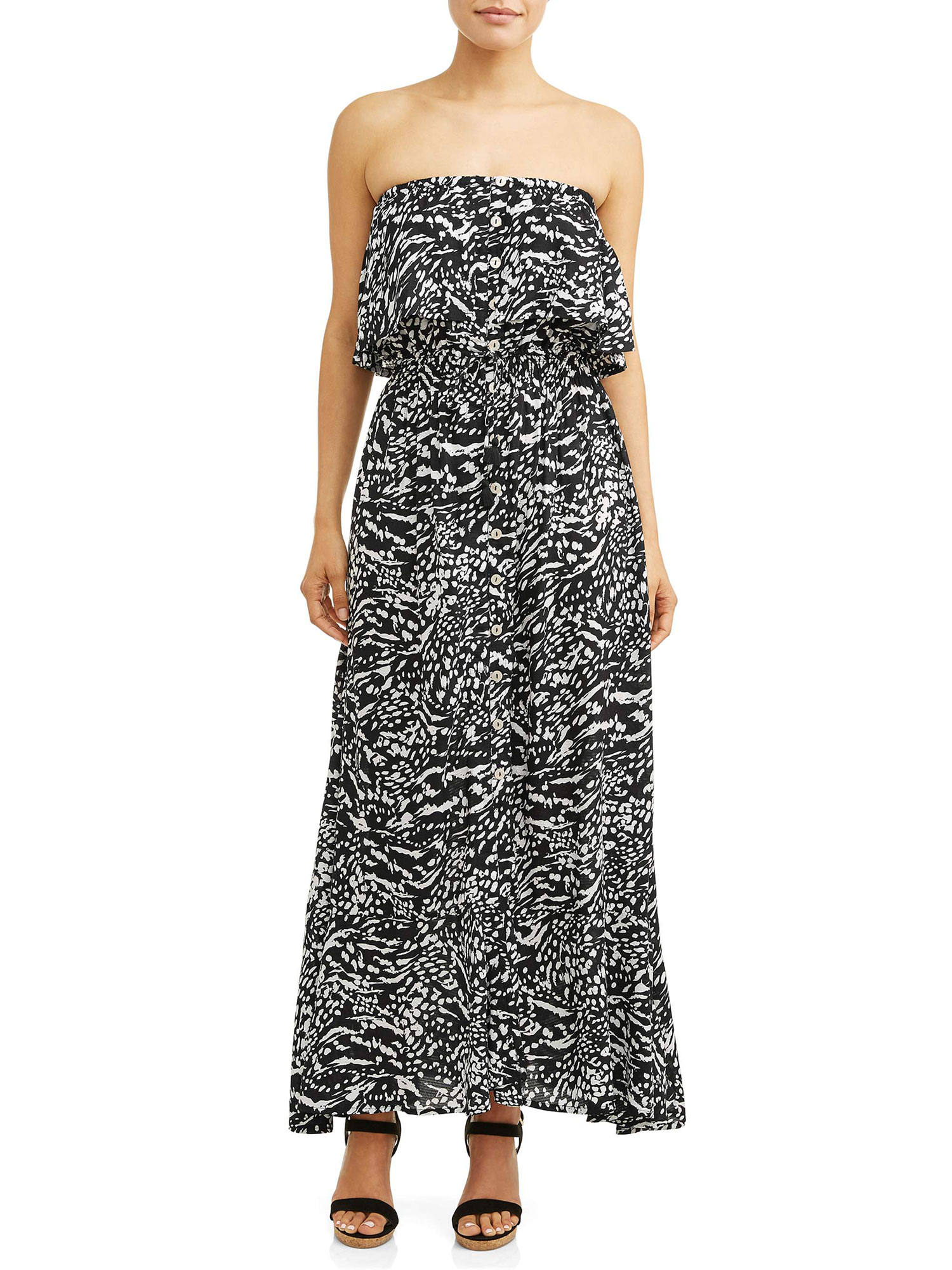 Sofia Vergara Spring Collection walmart - Go from day to night in this flirty maxi dress.
