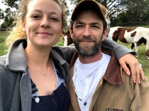 Sophie Perry Heads Back to Africa After Dad Luke Perry's Death
