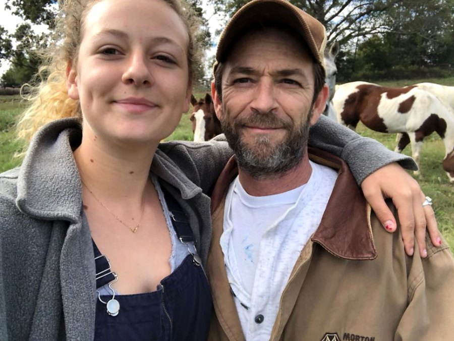 Sophie Perry and Luke Perry School Naming