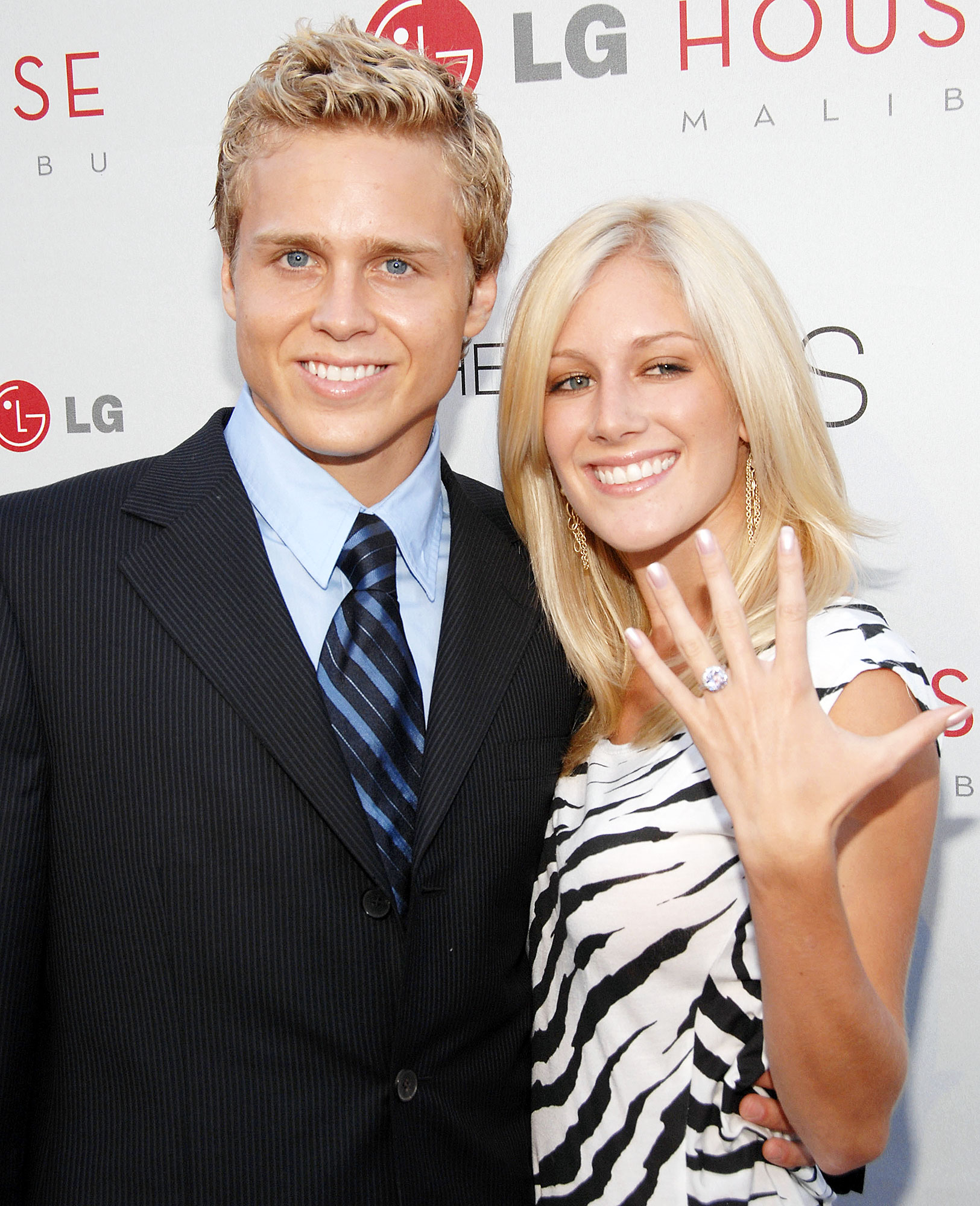Speidi Turns 10 Heidi Montag Spencer Pratt Engaged - After less than a year of dating, Spencer popped the question on a Santa Barbara beach — with a promise ring — in May 2007. But by December, they had called off their promise.