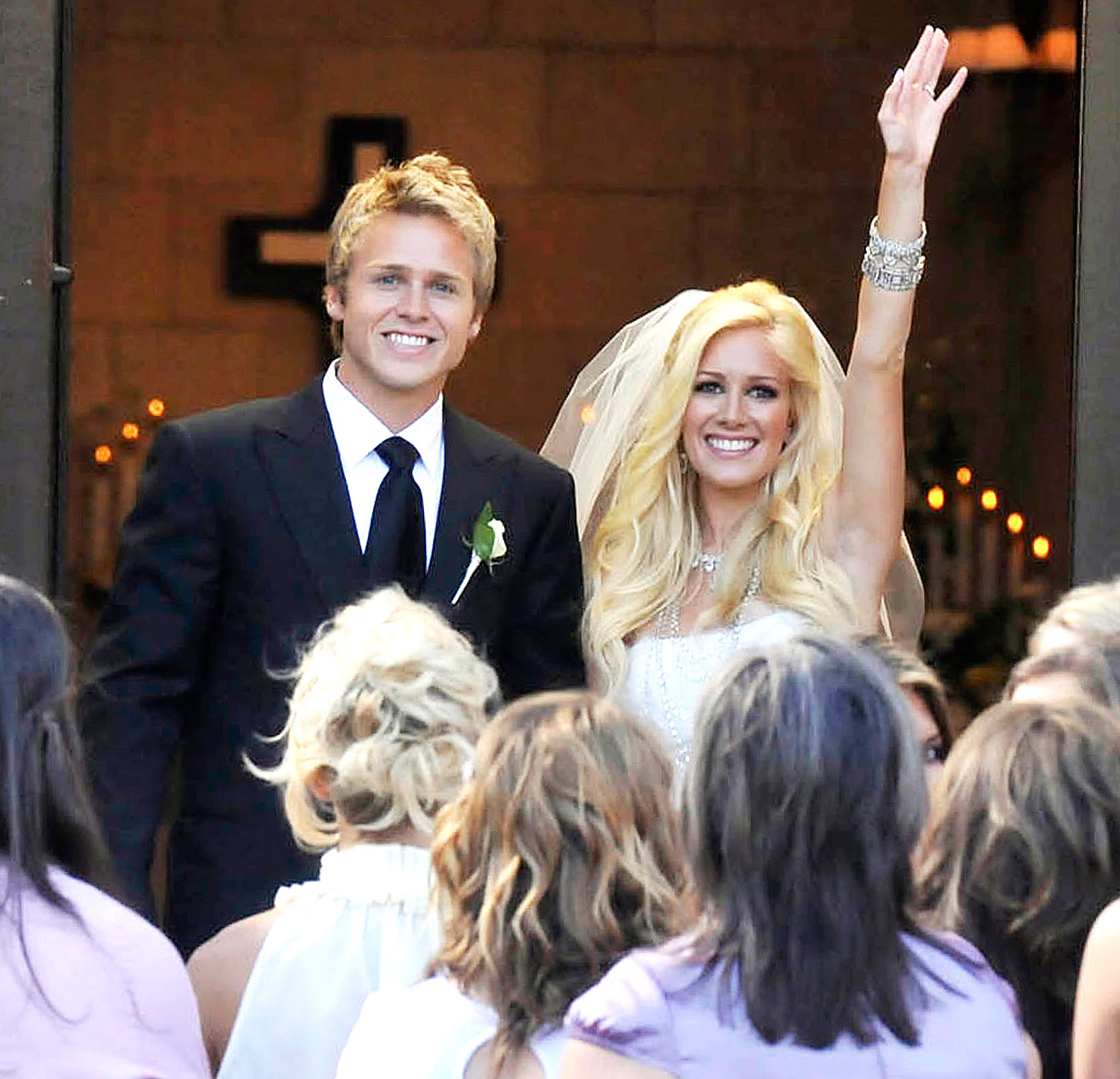 "Speidi Turns 10 Heidi Montag Spencer Pratt Wedding - ""I do""... round two!"
