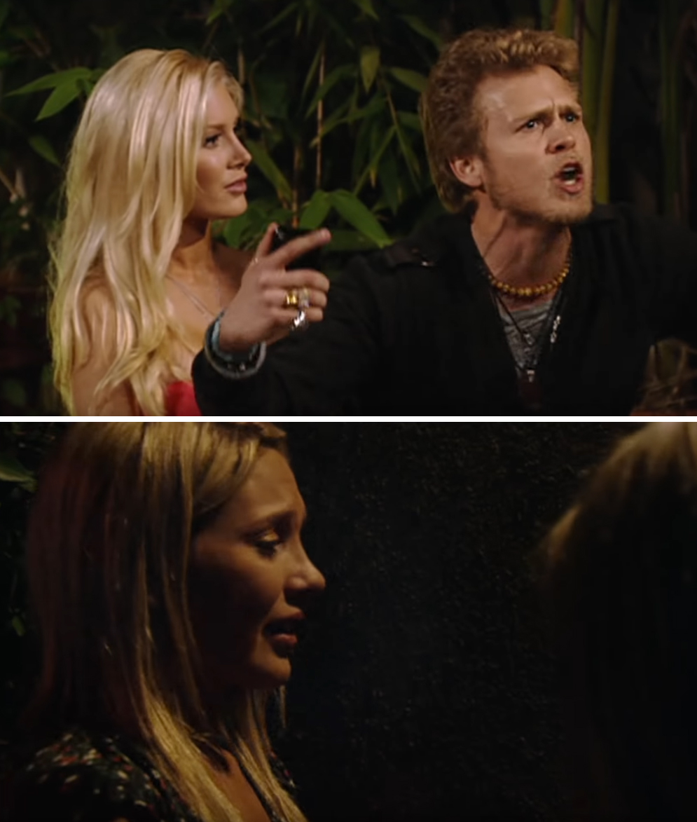 Spencer-Pratt-Stephanie-Pratt-fight-The-Hills - The Marriage Boot Camp: Reality Stars alum lashed out at Stephanie again in season 6. Spencer mocked his sibling as she attempted to reconcile with him at a barbecue hosted by Cavallari.