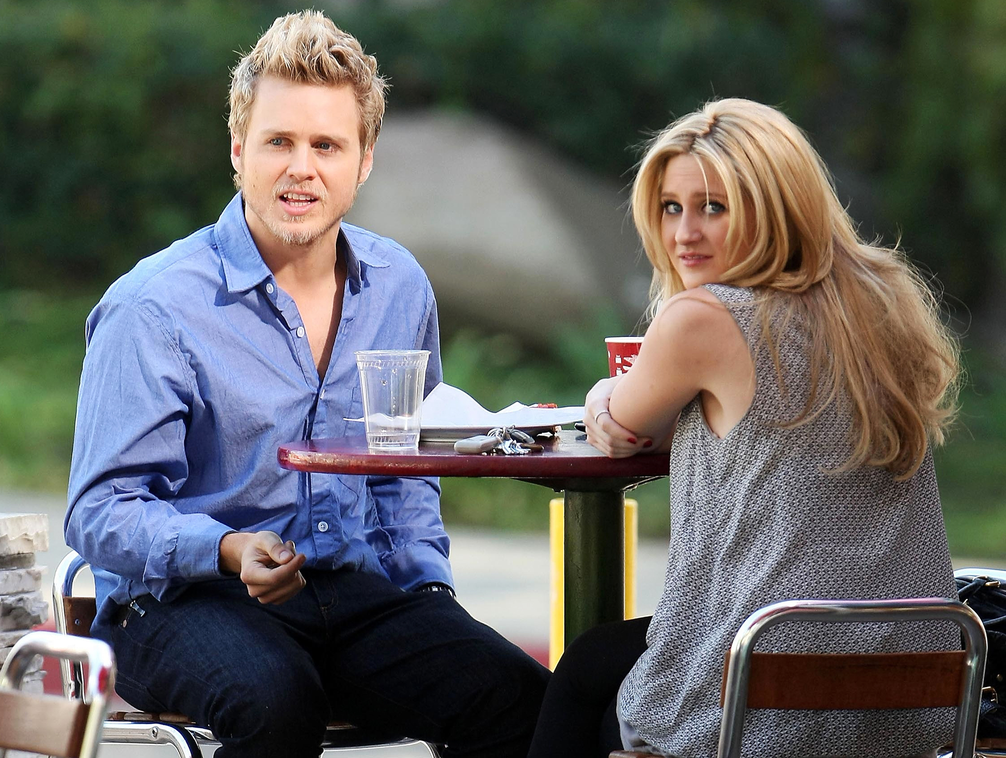 """Spencer-Pratt-Stephanie-Pratt-fight-on-The-Hills - """"Heidi is always number one to Spencer, so you know what? Spencer is dead to me ,"""" Stephanie said during the April 2019 """"Pratt Cast"""" episode. She also revealed that her brother was cut out of their parents' will due to """"how horrific he is as a human."""""""