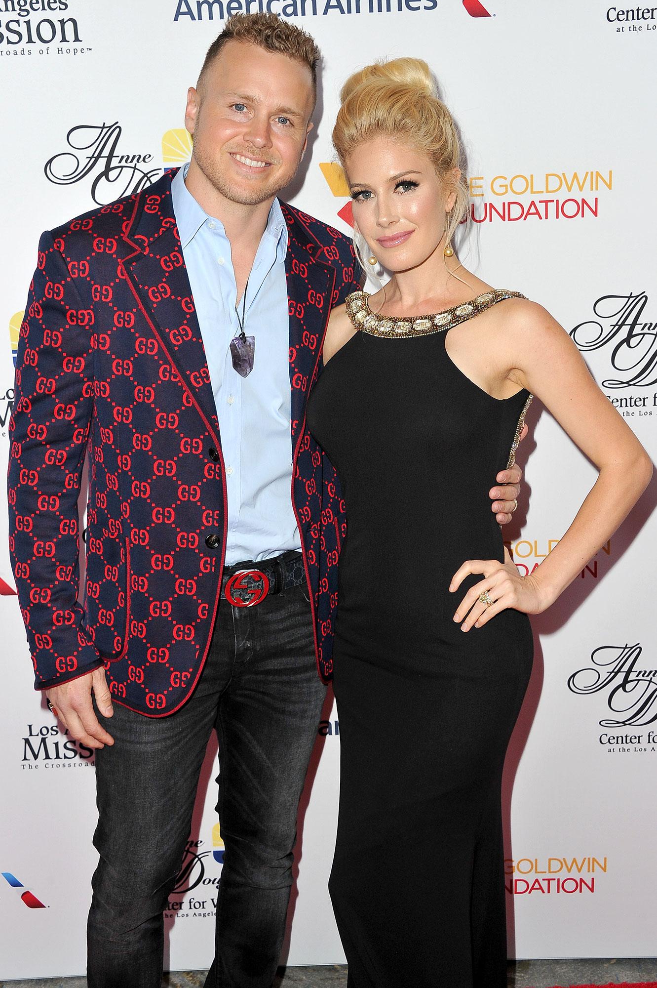 Spenser Pratt Heidi Pratt Comfort Mom - Spenser Pratt and Heidi Pratt attend the Los Angeles Mission Legacy of Vision gala at The Beverly Hilton Hotel on October 25, 2018 in Beverly Hills, California.