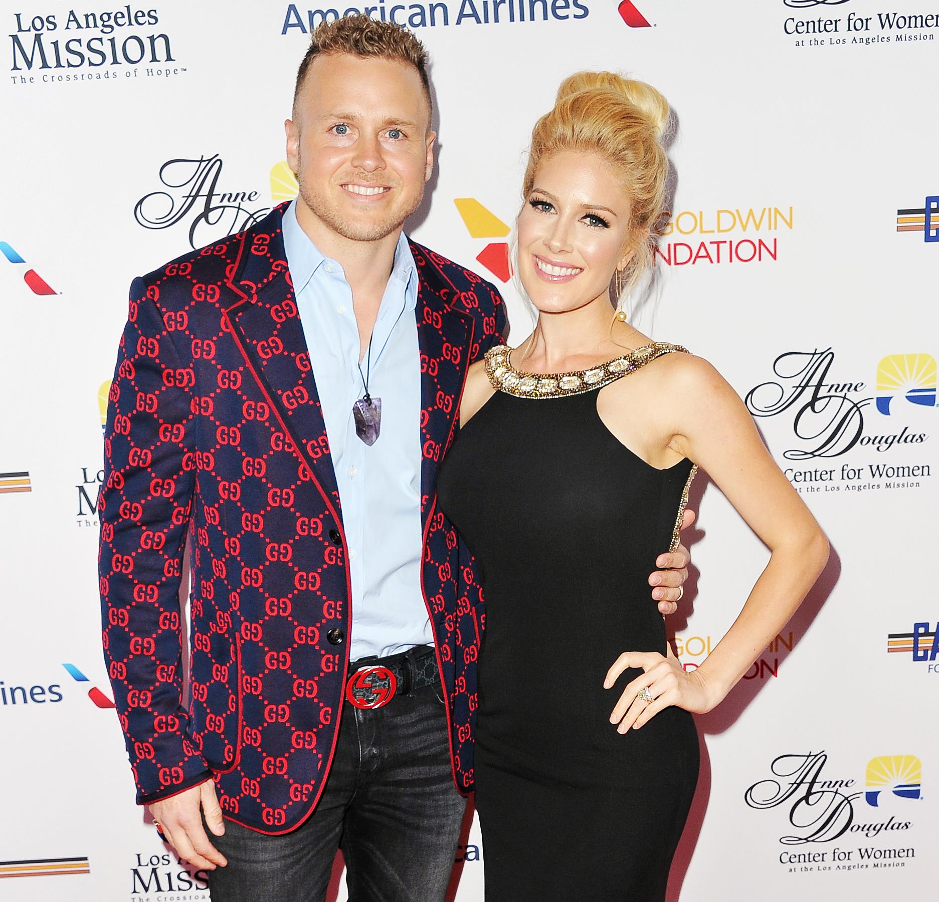 Stephanie Pratt Shades Spencer Pratt - Spencer Pratt and Heidi Pratt attend the Los Angeles Mission Legacy of Vision gala at The Beverly Hilton Hotel on October 25, 2018 in Beverly Hills, California.