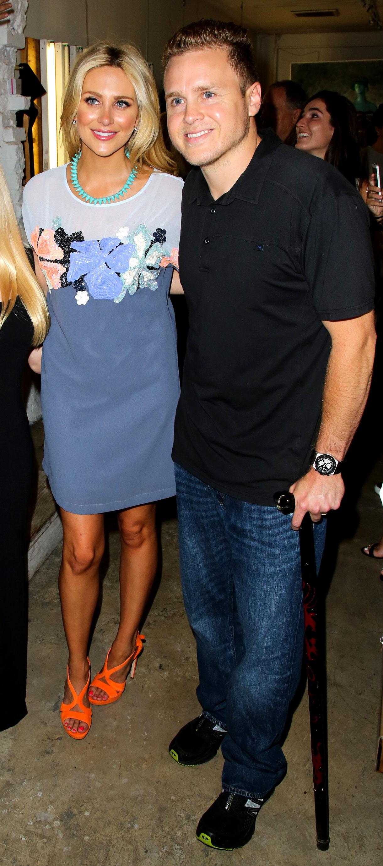 Stephanie Pratt Shades Spencer Pratt - Stephanie Pratt and Spencer Pratt attend the US Launch of MeMe London at DiLascia on July 28, 2015 in Los Angeles, California.