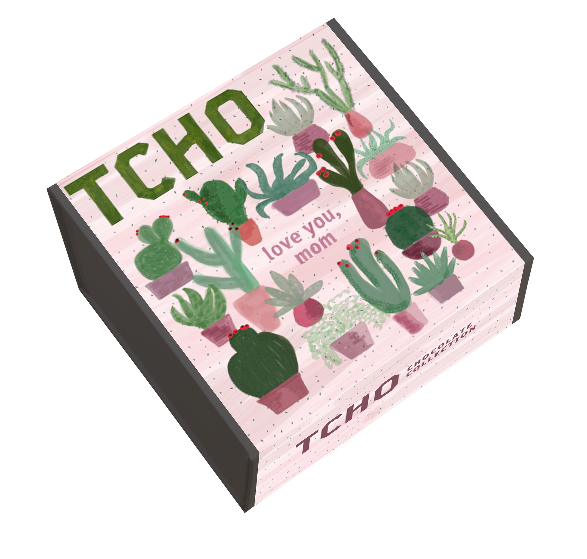 """TCHO-Mother's-Day-Succulents-Gift-Box-36x8g-Chocolate-Collection - One box, 36 chocolate bars. What a sweet way to say, """"Happy Mother's Day."""" $25.99, tcho.com"""