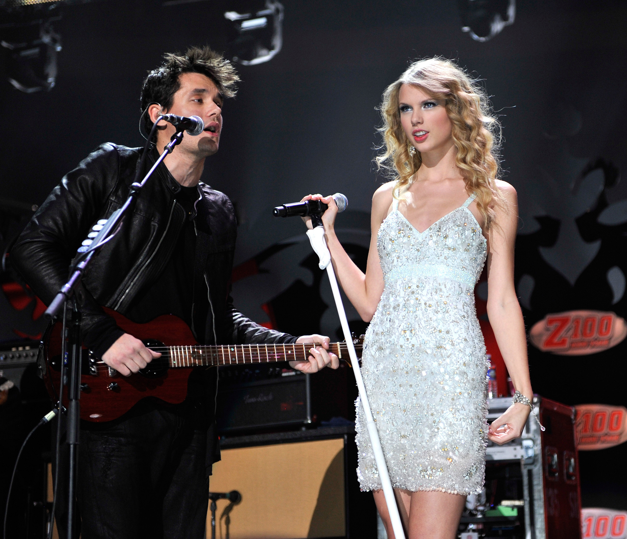 "Taylor Swift Feuds - Swift all but named ex Mayer as the subject of her 2010 song ""Dear John,"" a track he later said embarrassed him . ""I never got an email,"" he told Rolling Stone in June 2012."