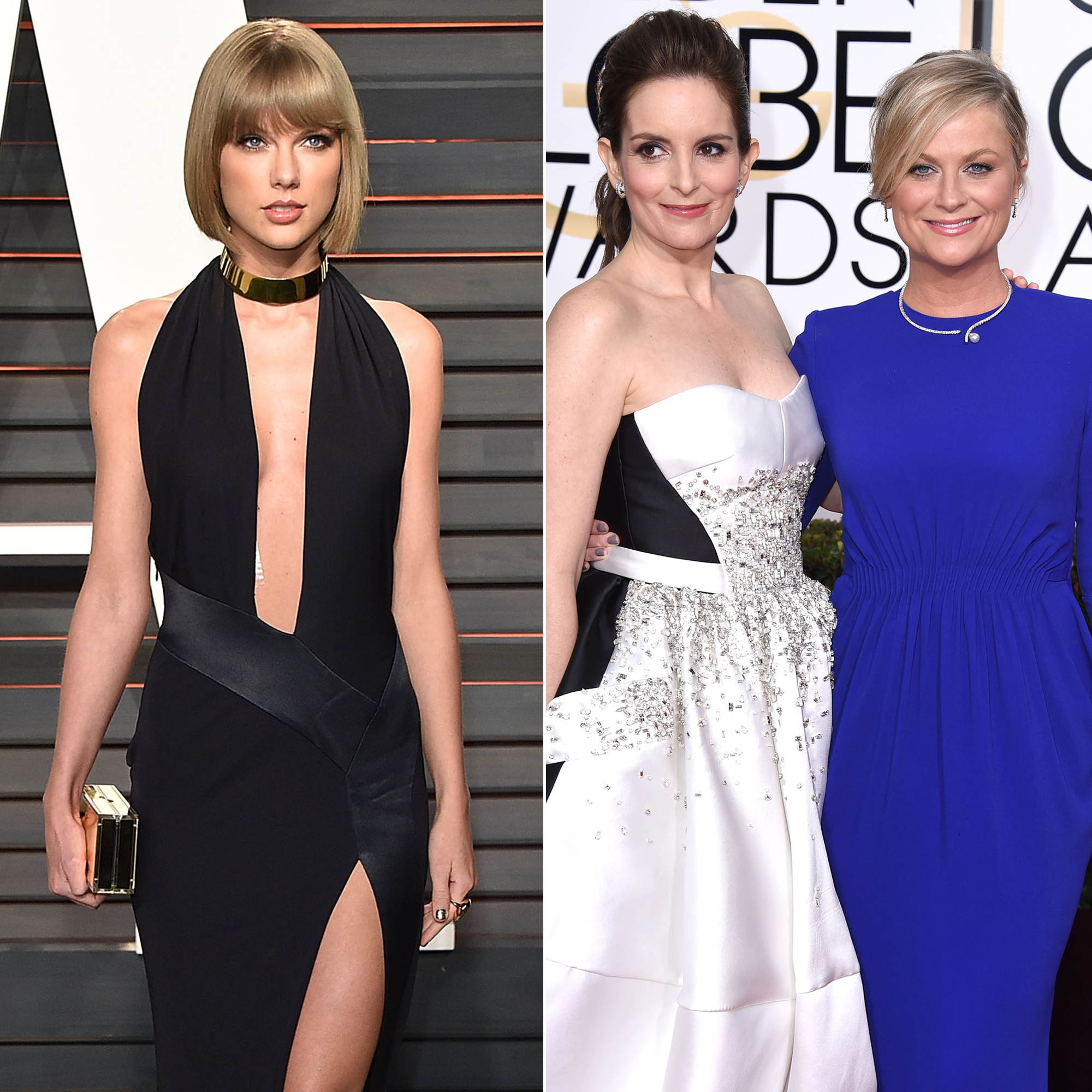 "Taylor Swift Feuds - After the Saturday Night Live alums made a joke about Swift's love life at the 2013 Golden Globes, Swift expressed her outrage with a Madeleine Albright quote: ""There's a special place in hell for women who don't help other women."" Fey later told Entertainment Tonight that it was a ""shame she didn't take [the joke] in the crazy-aunt spirit in which it was intended."""