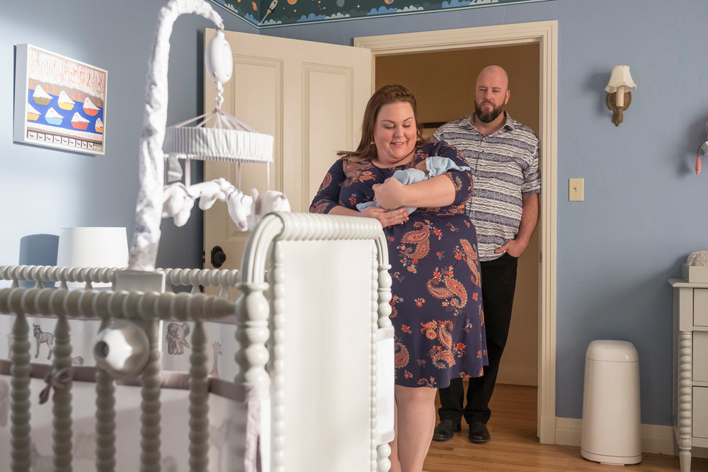 'This Is Us' Finale: Breaking Down Every New Question About Kate, Rebecca and More - Chrissy Metz as Kate and Chris Sullivan as Toby on 'This Is Us.'