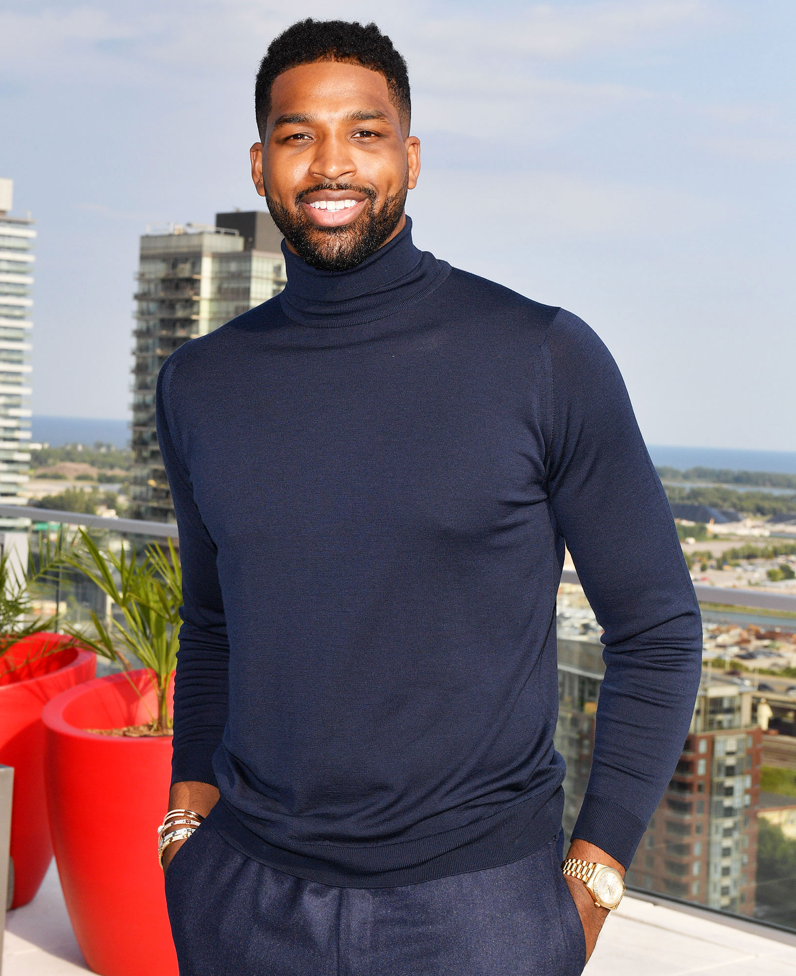 Tristan Thompson Hooking Up With Women Khloe Kardashian Split - Tristan Thompson attends The Amari Thompson Soiree in support of Epilepsy Toronto at The Globe and Mail Centre on August 9, 2018.