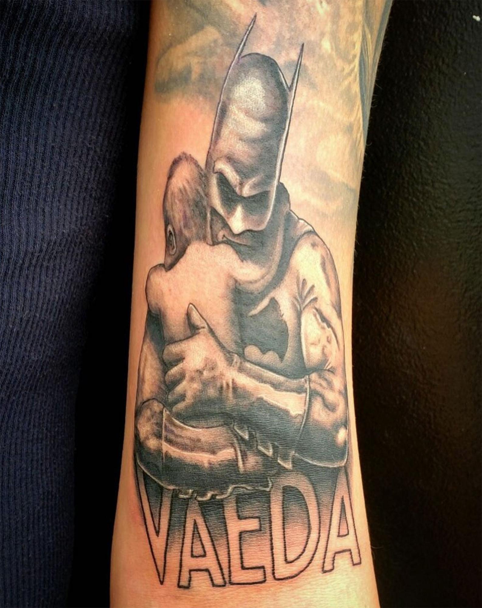 ae0da8e21e0e7 See Celebrities' Craziest Tattoos - Us Weekly