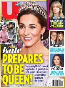 UW1619 Us Weekly Cover Duchess Kate Queen