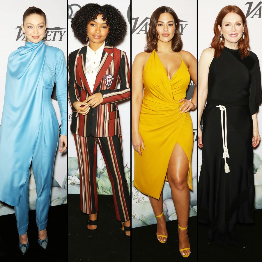 Gigi Hadid, Yara Shahidi, Ashley Graham and Julianne Moore