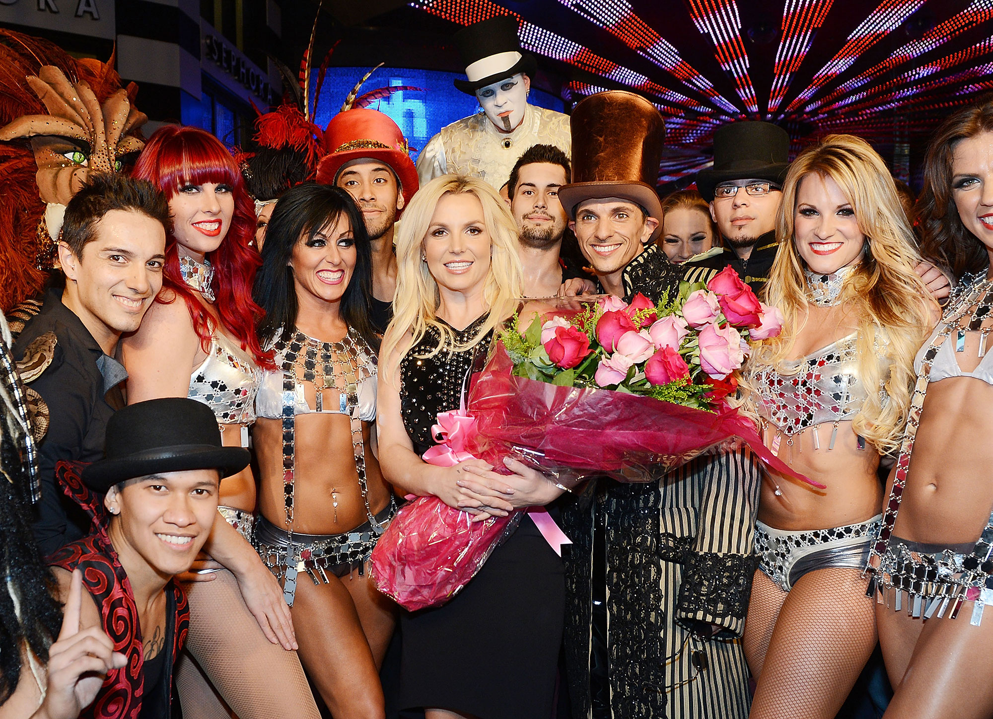 Britney Spears' Ups and Downs gallery - Following the release of her seventh and eighth studio albums, Femme Fatale and Britney Jean , respectively, Spears announced she had landed a Las Vegas residency. The show, titled Britney: Piece of Me , debuted at Planet Hollywood in December 2013.