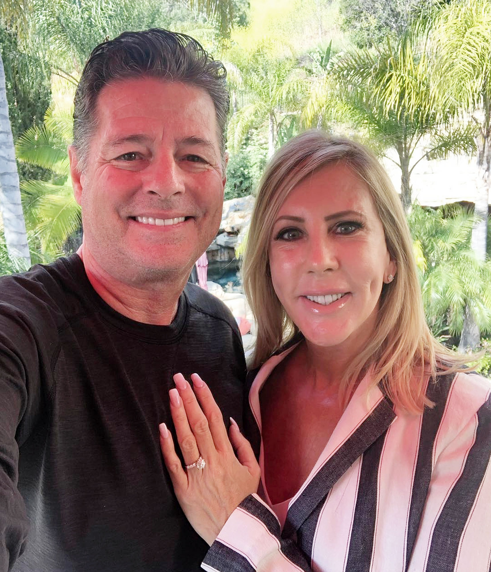Vicki Gunvalson Steve Lodge Engaged.