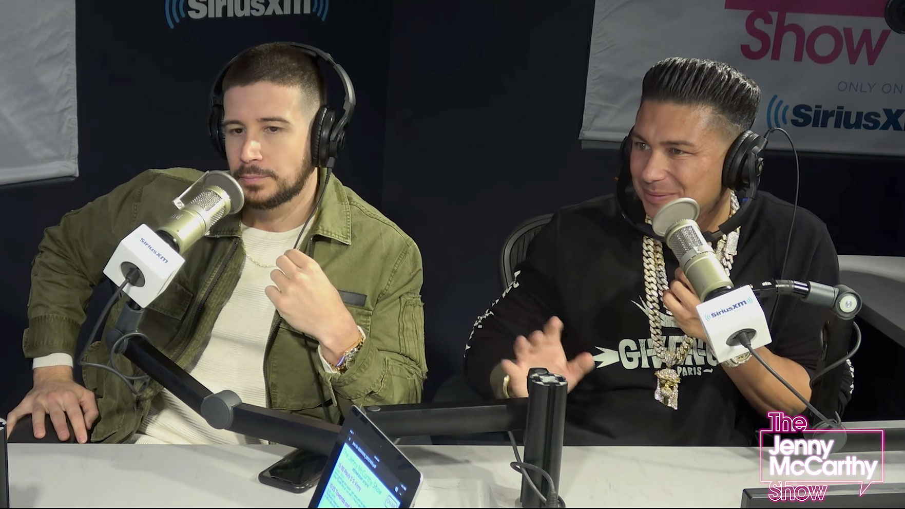 Vinny and Pauly D Talk About The Situation on Jenny McCarthy XM Show - Vinny Guadagnino and Pauly D talk about Mike Sorrentino on SiriusXM's The Jenny McCarthy Show.