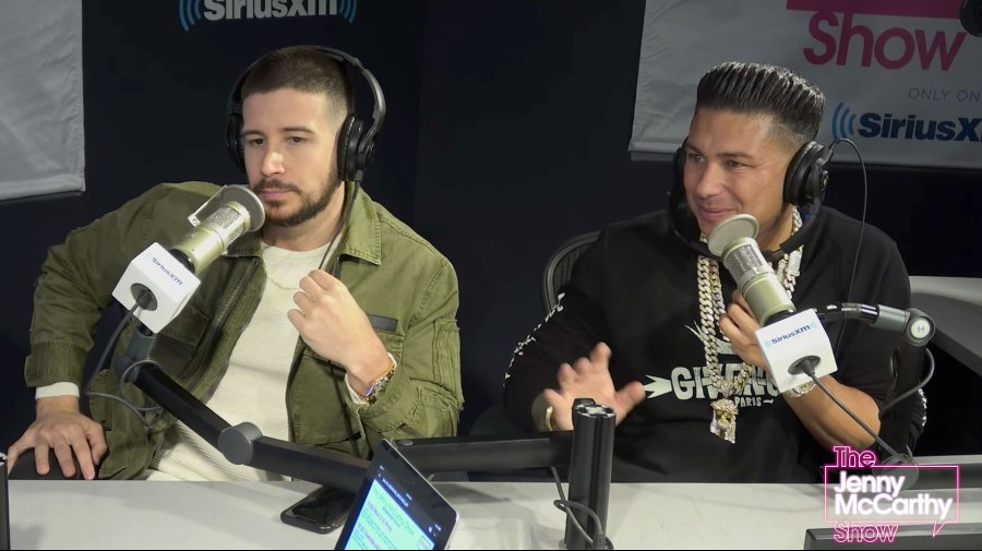Vinny and Pauly D Talk About The Situation on Jenny McCarthy XM Show