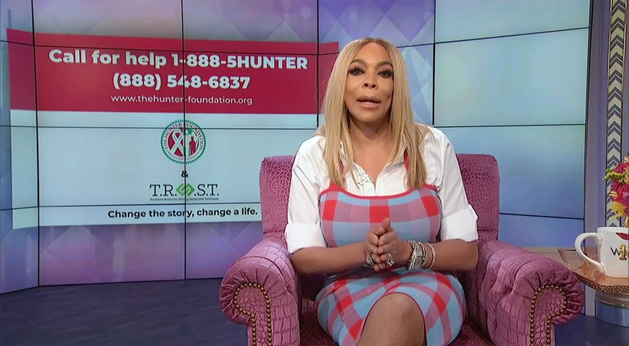 Wendy Williams Releases PSA on Addiction