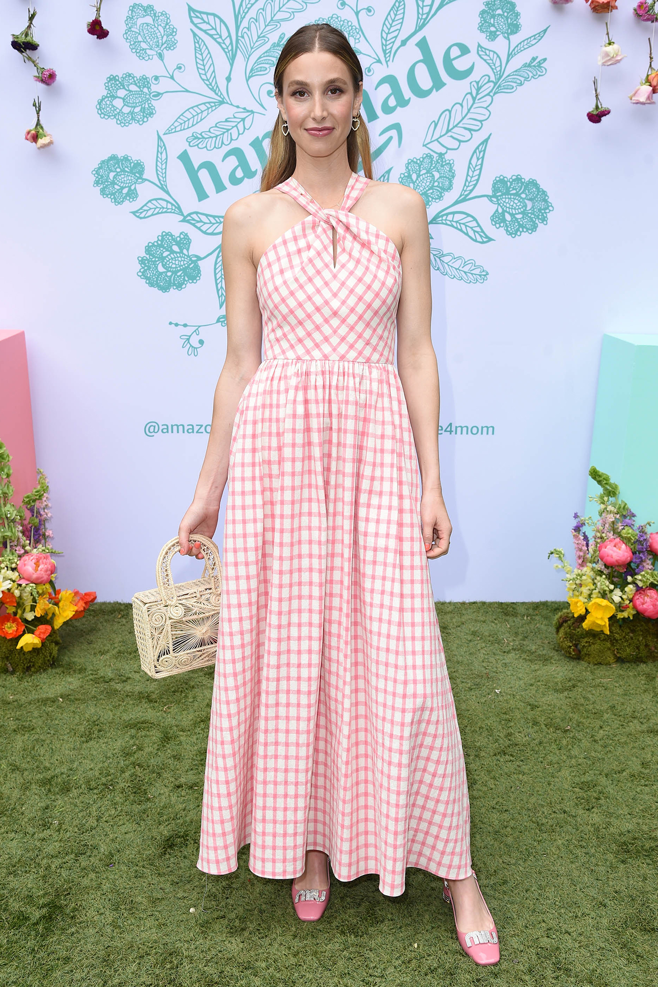 Whitney Port and 'Hills' Costars Share Parenting Advice - Whitney Port attends the Amazon Handmade event at Lombardi House on April 28, 2019.