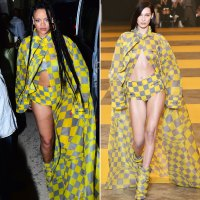 Who Wore It better Rihanna and Bell Hadid