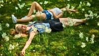 Women in Grass
