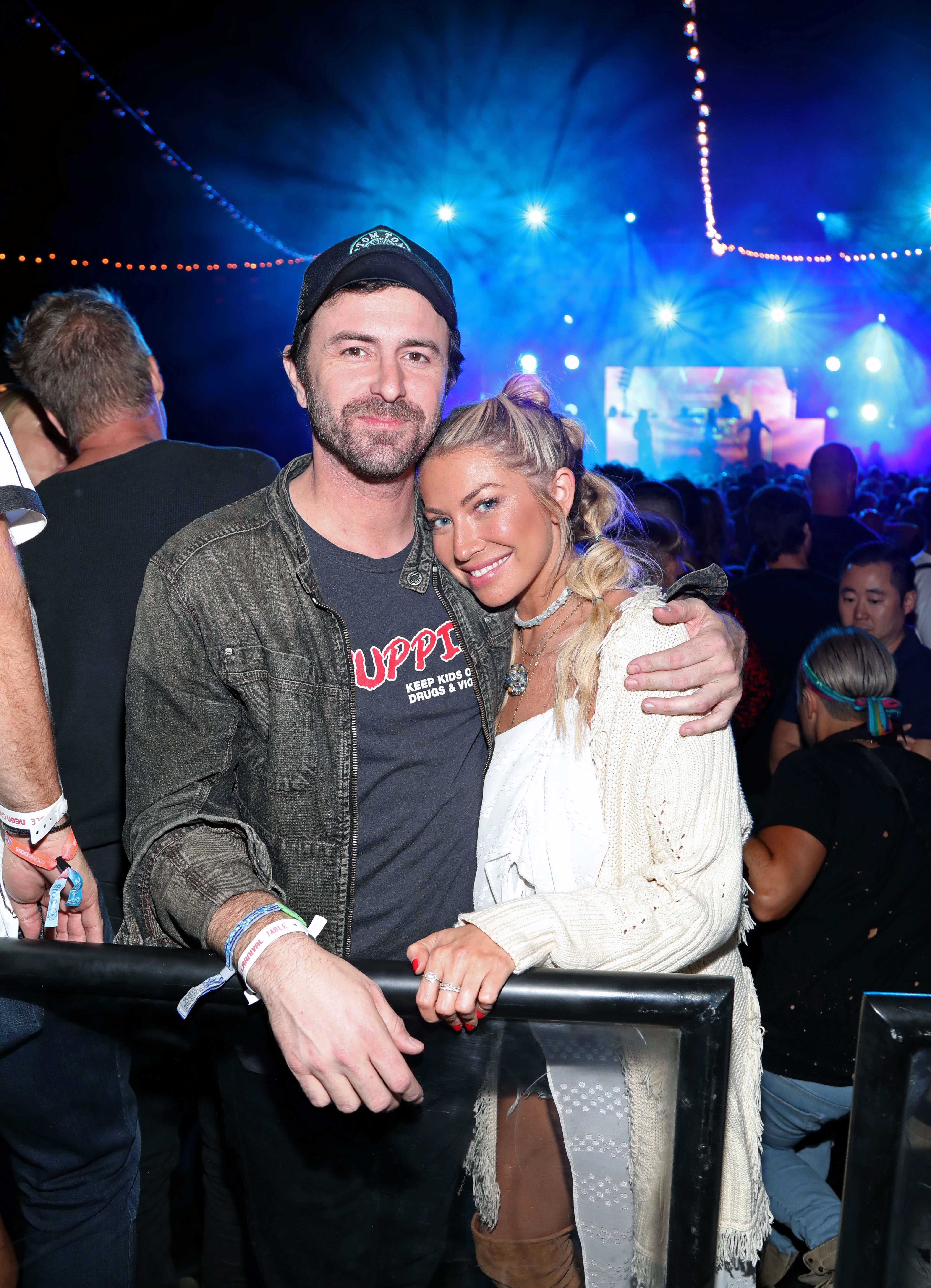 Beau Clark Stassi Schroeder Coachella 2019 - The Vanderpump Rules star and her boyfriend attended the Levi's Presents Neon Carnival with Bondi Sands and Pokemon: Detective Pikachu on Saturday, April 13.