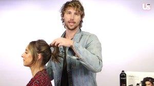 Hairstylist Chad Wood coachella hair