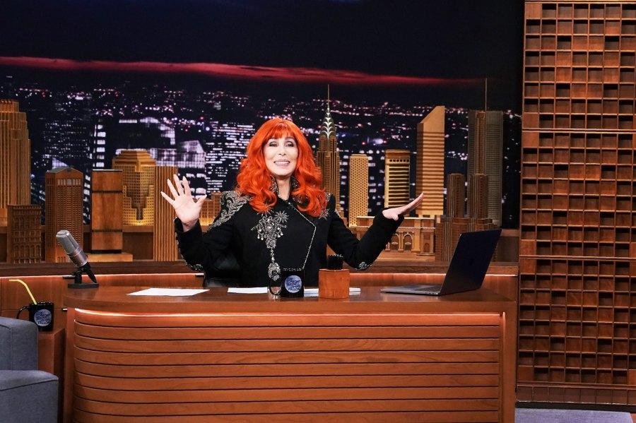 Cher Go Bold in Brightly Colored Wigs