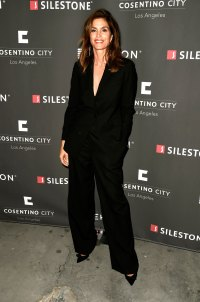 53-Year-Old Cindy Crawford Stuns in a Shirtless Tuxedo