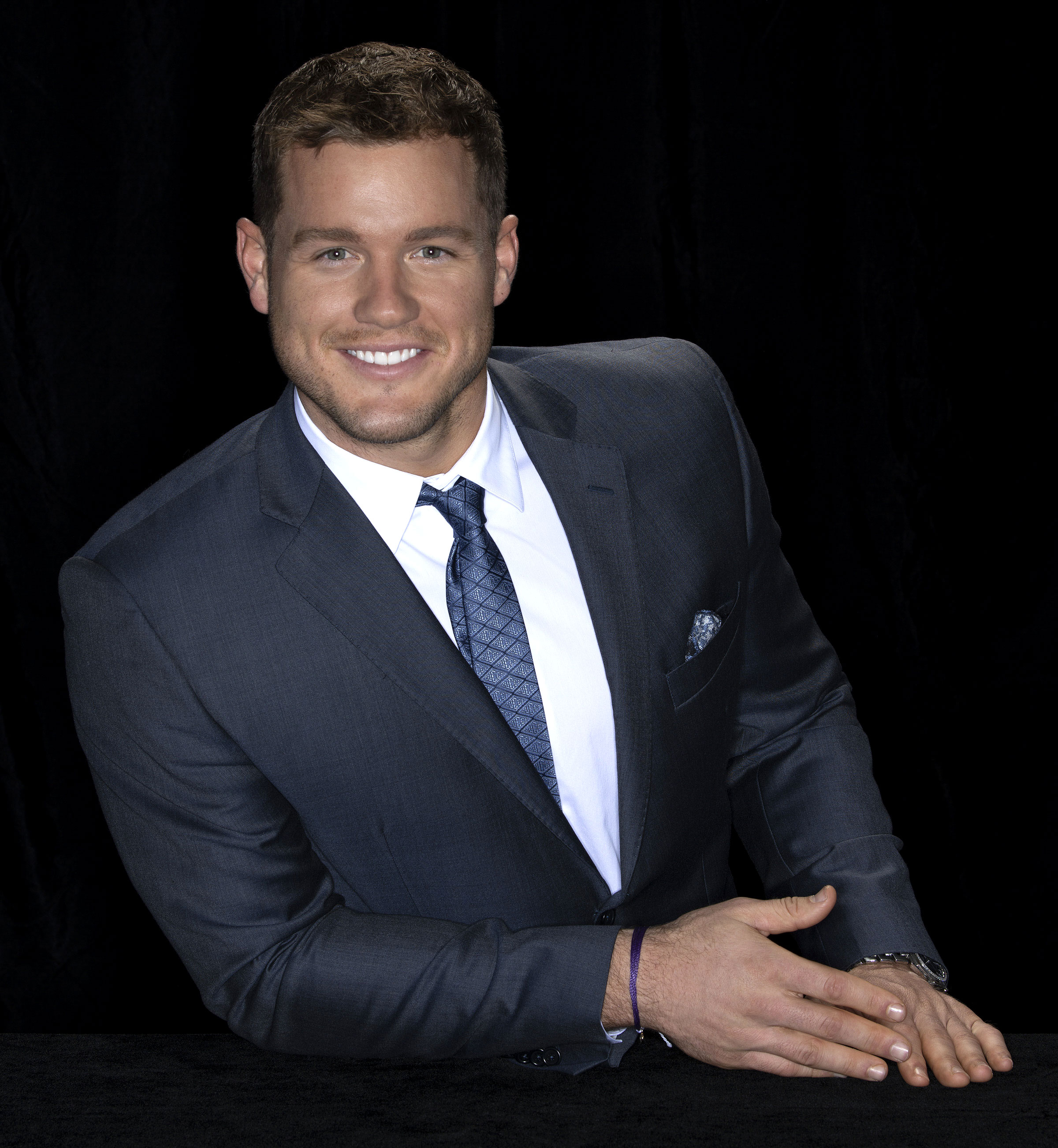 Colton Underwood Reenacted Fence-Jumping Scene Busy Tonight - Colton Underwood at ABC's Winter Press Tour on February 9, 2019 in Los Angeles, California.