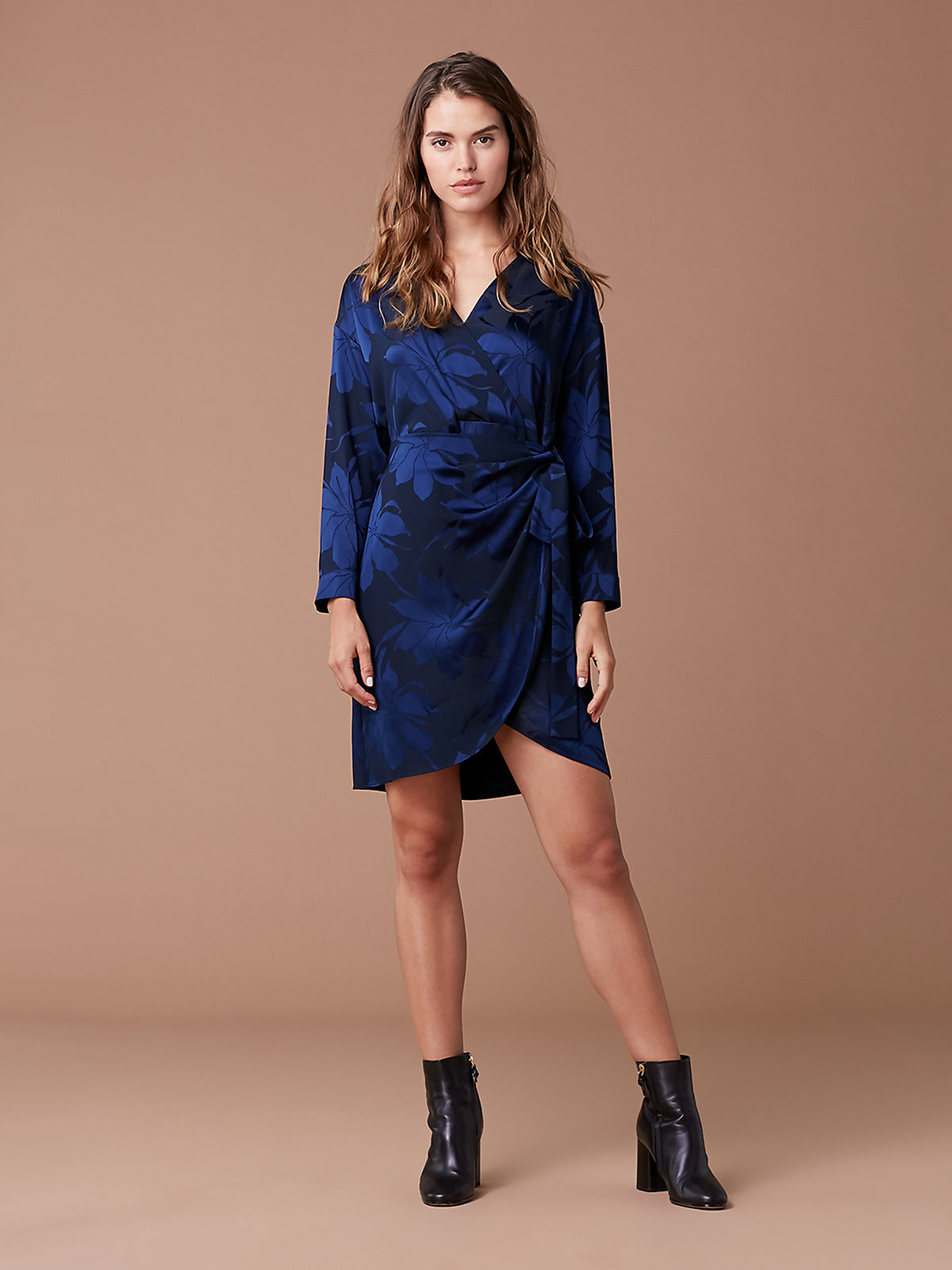 fd363004439a3 An Effortlessly Flattering DVF Wrap Dress Is on Sale for Over $150 Off