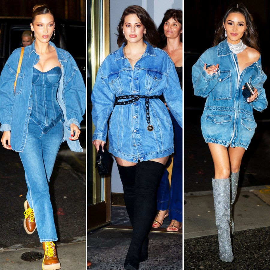 Bella Hadid, Ashley Graham, and Olivia Culpo Gigi Hadid's Famous Friends and Family Celebrate Her Bday in Denim-on-Denim, See Every Look
