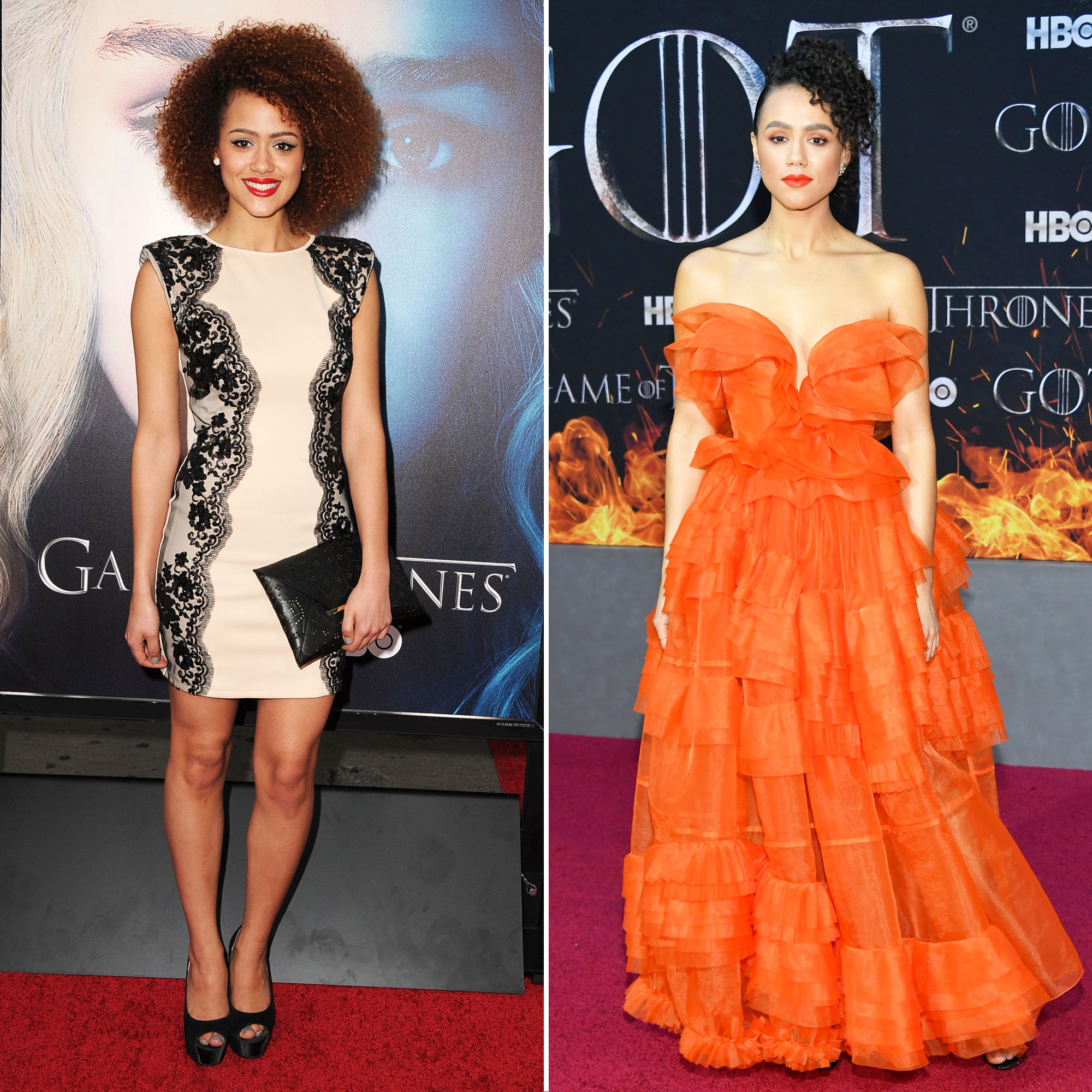 Nathalie Emmanuel 'Game of Thrones' Stars: From the First 'GoT' Red Carpet Premiere to the Last - Daenerys' righthand woman has been doing well for herself since she joined the GoT cast in 2013, appearing in the Maze Runner and the Fast and the Furious franchises in the midst of filming the HBO production. She also has two new TV series in the works: The Dark Crystal: Age of Resistance and the Four Weddings and a Funeral remake.